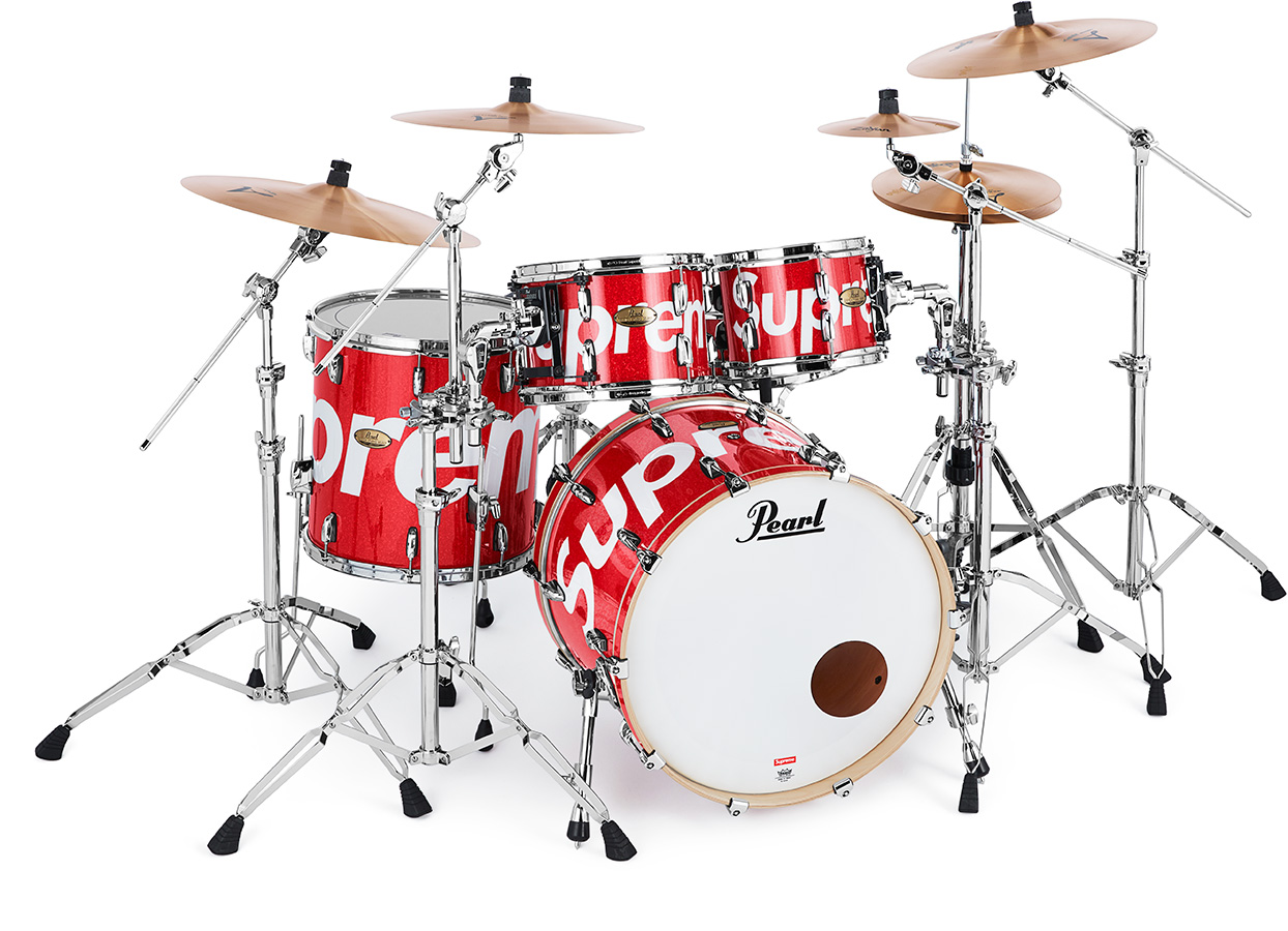 Supreme®/Pearl® Session Studio Select Drum Set & Zildjian